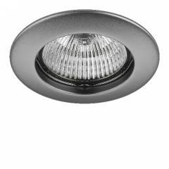 Светильник TESO FIX MR16/HP16 ХРОМ МАТОВЫЙ