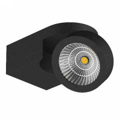 Светильник SNODO LED 10W 980LM 100x85 23G ЧЕРНЫЙ IP20