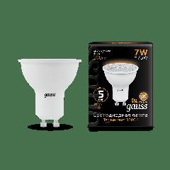 Лампа Gauss LED MR16 GU10 7W 3000K