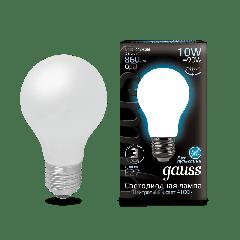Лампа Gauss LED Filament A60 OPAL E27 10W 4100К