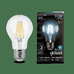 Лампа Gauss LED Filament A60 E27 10W 4100К