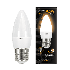 Лампа Gauss LED Candle E27 9.5W 3000К