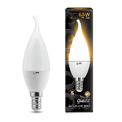 Лампа Gauss LED Candle tailed E14 6.5W 3000K