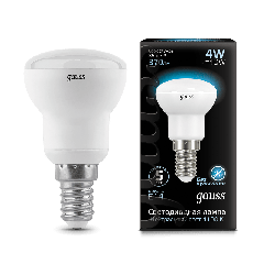 Лампа Gauss LED Reflector R39 E14 4W 4100K