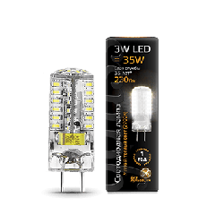 Лампа Gauss LED GY6.35 AC150-265V 3W 2700K