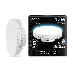 Лампа Gauss LED GX70 12W AC150-265V 4100K