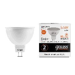 Лампа Gauss LED Elementary MR16 GU5.3 5.5W 3000К