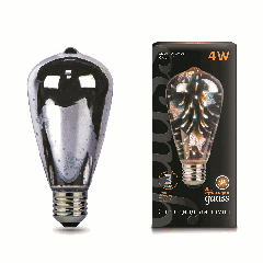 Лампа Gauss LED 3D-Butterfly E27 4W