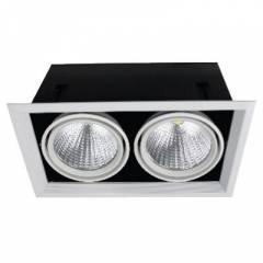 Светодиодный карданный светильник FL-LED Grille-111-2 360*195*170мм 60Вт 4800Лм