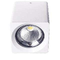 Светодиодный светильник FL-LED CUPSPOT Quad 30W White 4000K 3000Lm квадратный 30Вт 160*165мм