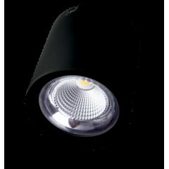 Светодиодный светильник FL-LED CUPSPOT Round 40W Black 3000K 4000Lm круглый 40Вт 193*193мм
