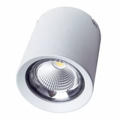 Светодиодный светильник FL-LED CUPSPOT Round 40W White 3000K 4000Lm круглый 40Вт 193*193мм