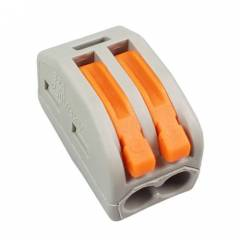 Клеммная колодка WAGO 222-412 2 конт., многоразовая 32A 400V