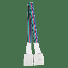 Коннектор для светодиодной ленты с возможностью изгиба RGB 3 шт. в упак.