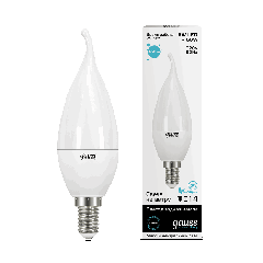 Лампа Gauss LED Elementary Candle Tailed 6W E14 4100K
