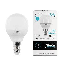 Лампа Gauss LED Elementary Globe 6W E14 4100K