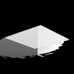 """Светодиодный светильник """"ВАРТОН"""" PANEL 070 595*595*10 мм диммер DALI драйвер в комплекте"""