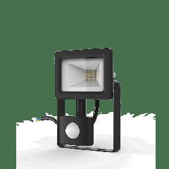 Прожектор светодиодный Gauss Elementary LED 10W 700lm IP65 6500К с датчиком движения