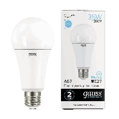 Лампа Gauss LED Elementary A67 35W E27 6500K