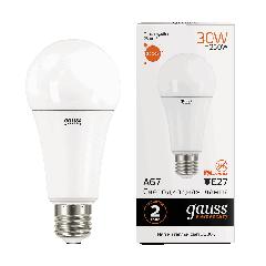 Лампа Gauss LED Elementary A67 30W E27 3000K