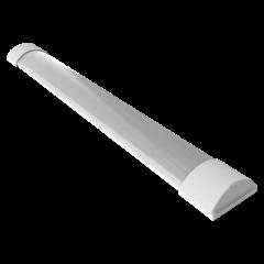 Светильник линейный светодиодный Gauss IP20 1200x74x24мм 36W cталь (аналог ЛПО)