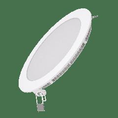 Встраиваемый светильник Gauss ультратонкий круглый IP20 12W,170х22, D155, 2700K 880лм 1/20