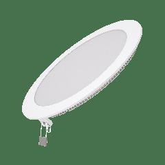 Встраиваемый светильник Gauss ультратонкий круглый IP20 18W,225х22, D210, 2700K 1200лм 1/20