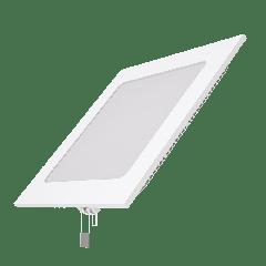 Встраиваемый светильник Gauss ультратонкий квадратный IP20 12W,170х170х22, D155х155,2700K 800лм 1/20