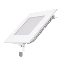 Встраиваемый светильник Gauss ультратонкий квадратный IP20 6W,120х120х22, D105х105, 4100K 400лм 1/20