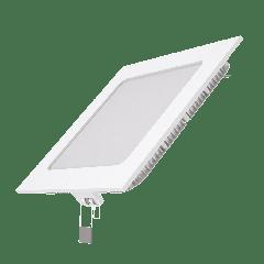 Встраиваемый светильник Gauss ультратонкий квадратный IP20 9W,145х145х22, D130х130, 4100K 660лм 1/20
