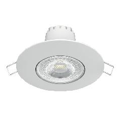 Светильник Gauss Кругл. Белый, 6W,90х90х56, 65мм,500 Lm LED 2700K
