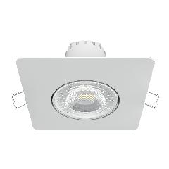 Светильник Gauss Квадрат. Белый, 6W,90х90х56, D65мм  520 Lm LED 4100K