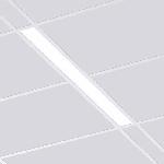 """Светодиодный светильник """"ВАРТОН"""" A220 офисный встраиваемый/накладной 1195*100*50мм"""