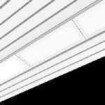 """Светодиодный светильник """"ВАРТОН"""" AL170  для реечных потолков 705х308х70 мм с рассеивателем опал IP54"""