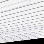 """Светодиодный светильник """"ВАРТОН""""  AL220 для реечных потолков 1170х100х50 мм"""