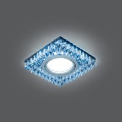 Светильник Gauss Backlight BL032 Квадрат. Черн.Кристал/Хром, Gu5.3, LED 4100K 1/40