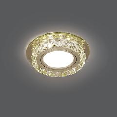 Светильник Gauss Backlight BL043 Кругл. Шампань/Кристалл/Хром, Gu5.3, LED 2700K 1/40