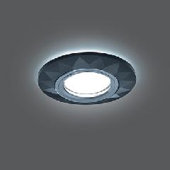 Светильник Gauss Backlight BL058 Круг Гран. Графит/Хром, Gu5.3, LED 4100K 1/40