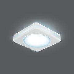 Светильник Gauss Backlight BL101 Квадрат. Белый, 5W, LED 4000K 1/60