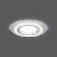 Светильник Gauss Backlight BL140 Кругл. Хром. Gu5.3, 3W, LED 4000K 1/40