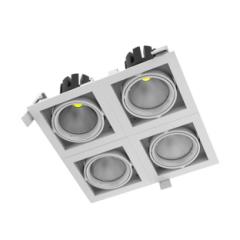 """Светодиодный светильник """"ВАРТОН"""" DL-TETRIS поворотный 35° 165*165*140mm"""