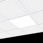 """Светодиодный светильник """"ВАРТОН"""" E070 встраиваемый/накладной 36W 595*595*50мм"""