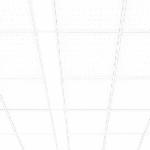 """Светодиодный светильник """"ВАРТОН"""" E270 встраиваемый/накладной 1195x180x50мм"""