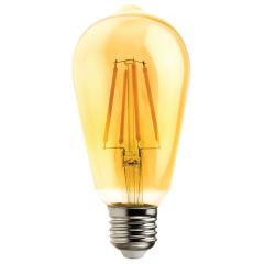 Светодиодная лампа FL-LED Vintage ST64 10W E27 2200К 220V 1000Лм 64*140 мм