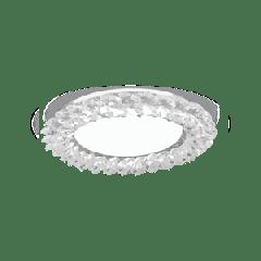 Светильник Gauss Tablet GX210 Круг. Кристалл/Хром, GX53 1/50
