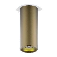 LED светильник накладной HD002 12W (кофе золото) 3000K 79x200,900лм, 1/30