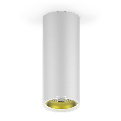 LED светильник накладной HD012 12W (белый золото) 3000K 79x200,900лм,1/30