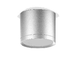 LED светильник накладной с рассеивателем HD020 10W (хром сатин) 4100K 88х75,720лм, 1/30