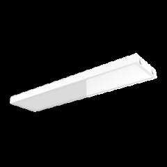 "Светодиодный светильник ""ВАРТОН"" тип кромки Microlook (Silhouette/Prelude 15) 1184*284*56 мм с равномерной засветкой"