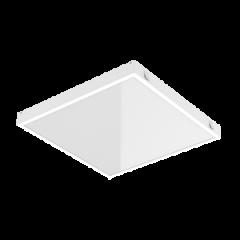"Светодиодный светильник ""ВАРТОН"" тип кромки Microlook (Silhouette/Prelude 15) 584*584*58мм с равномерной засветкой"